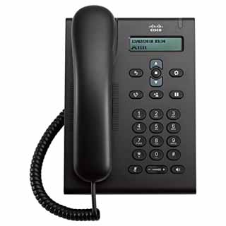 CISCO - CP-3905= - Unified SIP Phone 3905, Charcoal, Standard Handset.