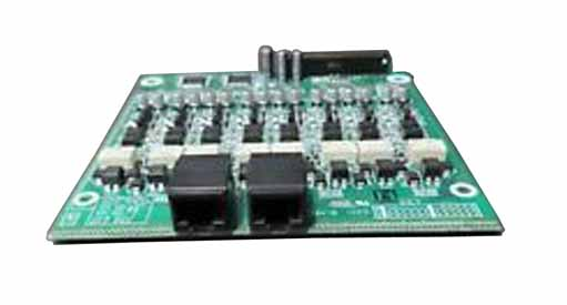 NEC - BE106349 - PZ-8LCE - 8 PORT ANALOG EXTENSION DAUGHTER BOARD CARD, SV8xxx.
