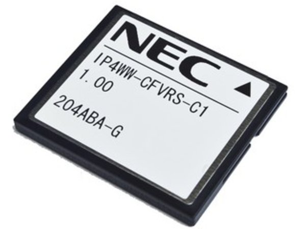 NEC - BE110730 - IP4WW-CFVRS-C1 Compact Flash Card 4-channel VRS for SL1100.