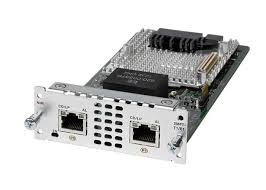 CISCO - NIM-2MFT-T1/E1 - 2 port Multiflex Trunk Voice/Clear-channel Data T1/E1 Module.