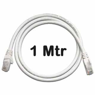 Datwyler Cables - 651658 - ‎Cat6 UTP Patch Cord Uninet 602 flex LS0H White 1 Mtr.