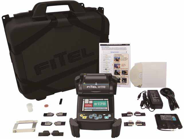 FITEL Furukawa Electric - S179A-21 KIT - Core Alignment Fusion Splicer, and S326A Cleaver.