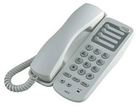 "NEC - AT-45 - SINGLE LINE ANALOG PHONE With MWL ""Message Waiting Lamp"", NO DISPLAY, MO85177090CN."