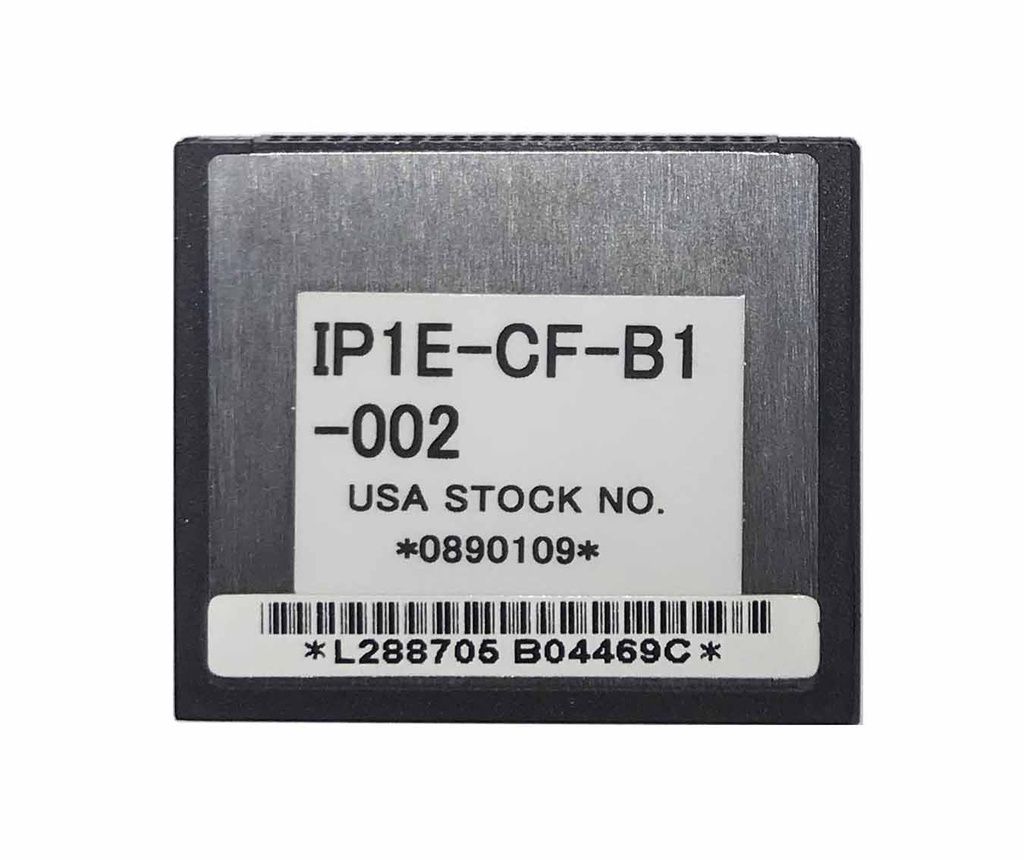 "NEC - IP1E-CF-B1 - COMPACT FLASH CARD 8 CHL VRS/AA FOR TOPAZ, USED WITH ""IP1WW-DSPDB-B1"" CARD."
