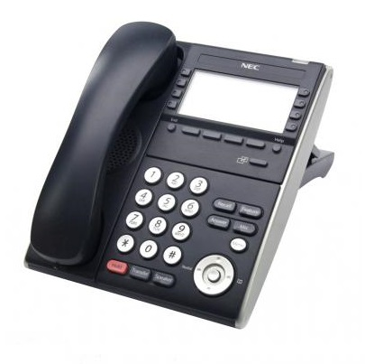 NEC - BE111238 - ITL-8LDE-1P(BK)TEL DT710 (VALUE) IP PHONE 8 BUTTON DISPLAY DESI-LESS (BLACK).