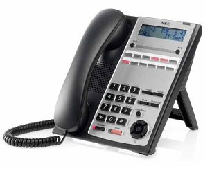 NEC - BE110262 - IP4WW-12TXH-A-TEL (BK) - DIGITAL PHONE 12 BUTTON (BLACK), SL1000.