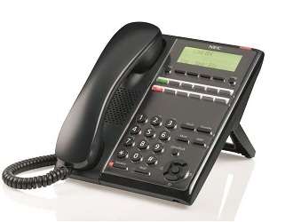 NEC - BE116513 - IP7WW-12TXH-A1 - Digital Phone 12-Key with Display.