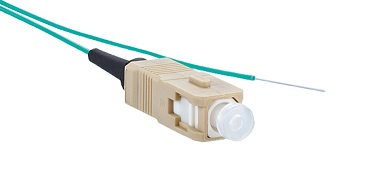 Panduit - FXB3-NM1Y - FO Pigtail SC OM3 MM MultiMode 50/125µm buffered fiber 1 Mtr.