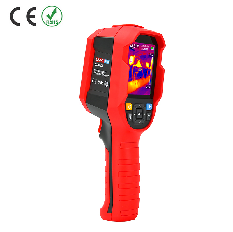 UNI-T - UTi165K - Infrared Thermal Imager High-Precision Handheld Human Body Temperature Measurement Tool.