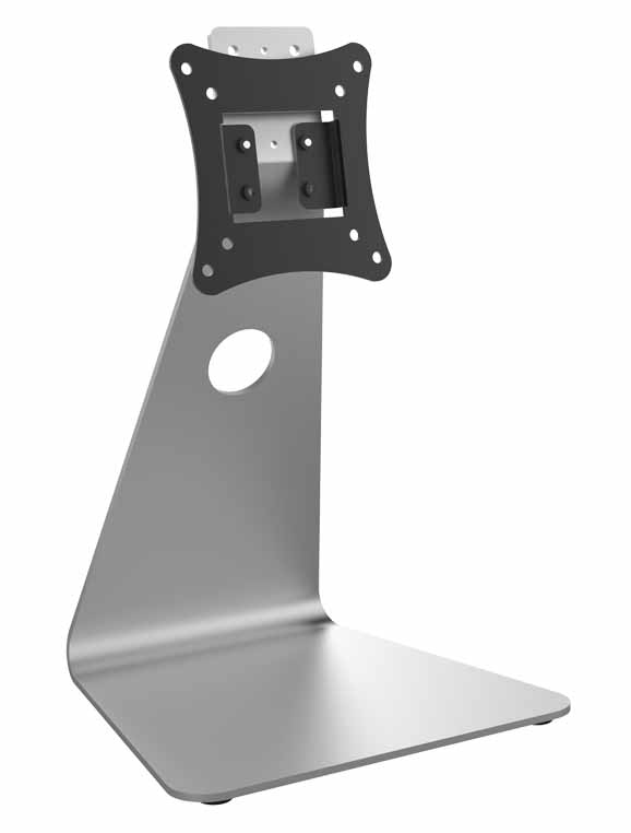 Hikvision - DS-DM0701BL - Table stand for DS-K1T671TM-3XF.