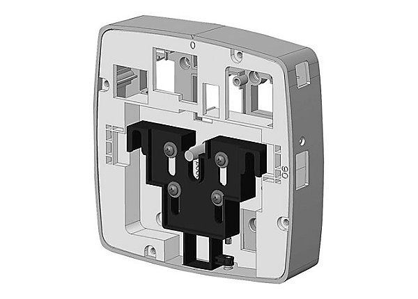 HP - JY705A - AP-200-MNT-W3 White Low Profile Box Style Secure Small Indoor AP Flat Surface Mount Kit.