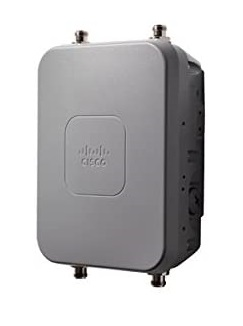 Cisco - AIR-AP1562E-M-K9 - Cisco Aironet 1562E Outdoor Access Point, 802.11ac, W2, Low-Profile, External Ant, M Reg Dom.