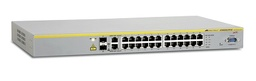 [AT-8000S/24POE-30] Allied Telesis - AT-8000S/24POE-30 - 24 Port POE 10/100 Stackable Managed Fast Ethernet Switch with 2x 10/100/1000T / SFP Combo uplinks, PoE = 185W.
