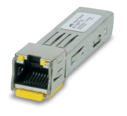 [AT-SPTX] Allied Telesis - AT-SPTX - SFP RJ-45 10/100/1000T, Full-Duplex Gigabit Ethernet Hot Swappable 100 Mtrs.