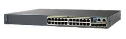 [WS-C2960X-24PS-L] CISCO - WS-C2960X-24PS-L - Catalyst 2960-X 24-Port Gigabit PoE Managed L2-L3 Stackable Switch, 24 x 10/100/1000 PoE + 4 x SFP 1G, PoE power 370W, LAN Base, Dimensions: (H 4.5 X W 44.5 x D 36.8) cm 1 RU.