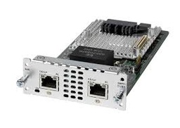 [NIM-2MFT-T1/E1] CISCO - NIM-2MFT-T1/E1 - 2 port Multiflex Trunk Voice/Clear-channel Data T1/E1 Module.