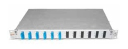 [417306] Datwyler Cables - ‎417306 - FO Patch Panel OV-A 6 SCD, Including 12 SC Adapters & Pigtails 2 Mtr, G50/125 OM3.
