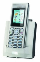 [9600 015 84100] NEC - 9600 015 84100 - I755s IP DECT Handset, Silver, dust & drip proof (IP54), swappable batteries, DECT Messaging (LRMS protocol) and a Bleutooth headset.