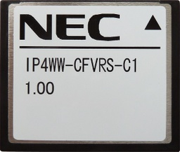 [BE110730] NEC - BE110730 - IP4WW-CFVRS-C1 Compact Flash Card 4-channel VRS for SL1000.