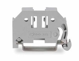 [249-116] NEC - 249-116 - WAGO ID-02490116, Screwless end stop 6mm wide for DIN-rail 35x15 and 35x7.5, Gray.