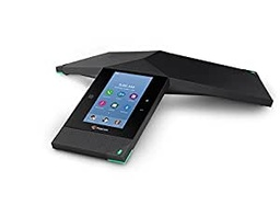 [2200-66070-025] Polycom RealPresence Trio 8800 IP Conference Phone, Open SIP, 5-inch color Touch LCD (720 x 1280 pixel), USB, Bluetooth, 6m/20ft pickup, HD Voice 22KHz Audio.