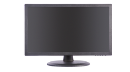"[DS-D5024QE] Hikvision - DS-D5024QE - 23.8"" LED Monitor, 24/7 operation, 1080P, HDMI/VGA input, view angle:178°/178°, 250cd/㎡, plastic casing, ERP level A, VESA, base bracket included, 1-Year Standard Warranty."