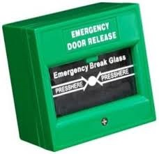 [DS-K7PEB-G] Hikvision - DS-K7PEB-G - Emergency Break glass, green color, 1 Year Warranty.