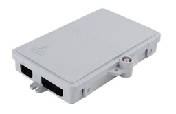 [DN4SCSWHAB55WP] DN4SCSWHAB55WP - 2 Port ABS FO FTTH / FTTB Wall Mount Termination Unit Enclosure DB IP65 In/Outdoor, Size HxWxD (180 x 120 x 30mm), 1 pc SC or 2 pcs LC connectors.